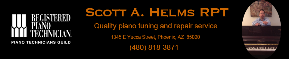 Scott Helms - Registered Piano Technician